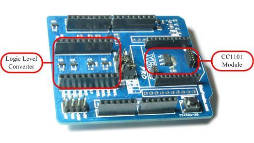 EF02012 XBee Shield with Logic Level Converter SHD08