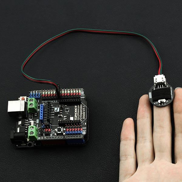 SEN0203 Gravity: Heart Rate Monitor Sensor for Arduino