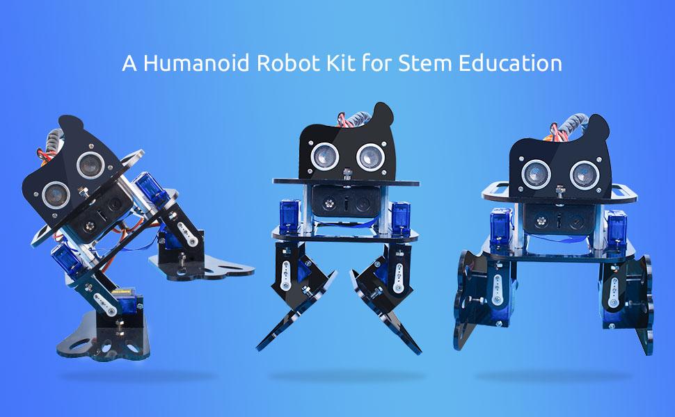 SF-4DOFRobot Arduino Nano DIY 4-DOF Robot Kit – Sloth Learning Kit