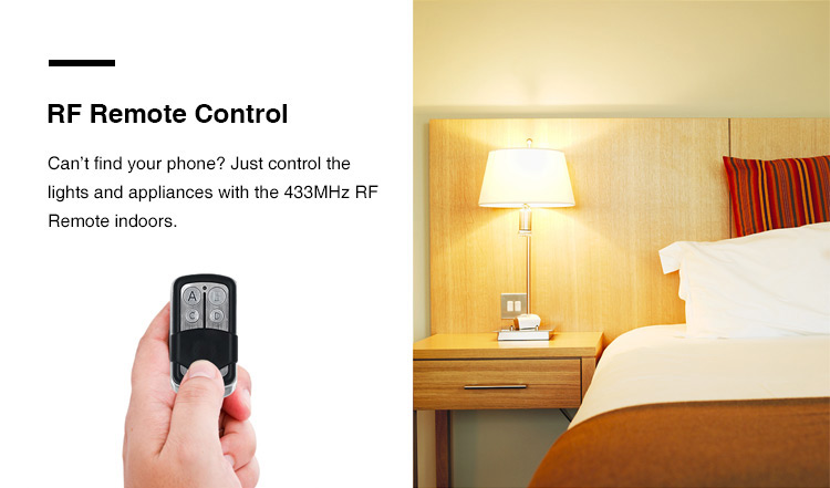 Sonoff RF- WiFi Wireless Smart Switch With RFreceiver For Smart Home