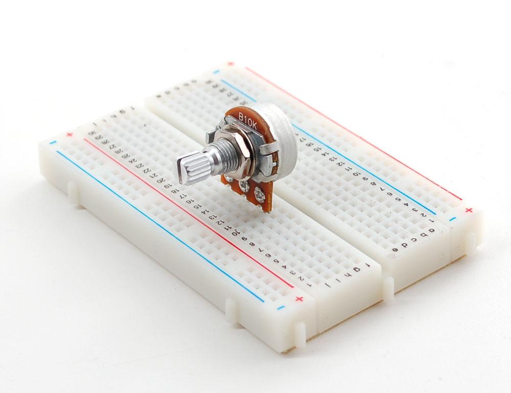 Panel mount k potentiometer breadboard friendly