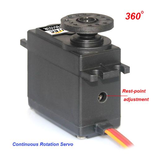 Fs5103r 360 Degree Continuous Rotation Servo
