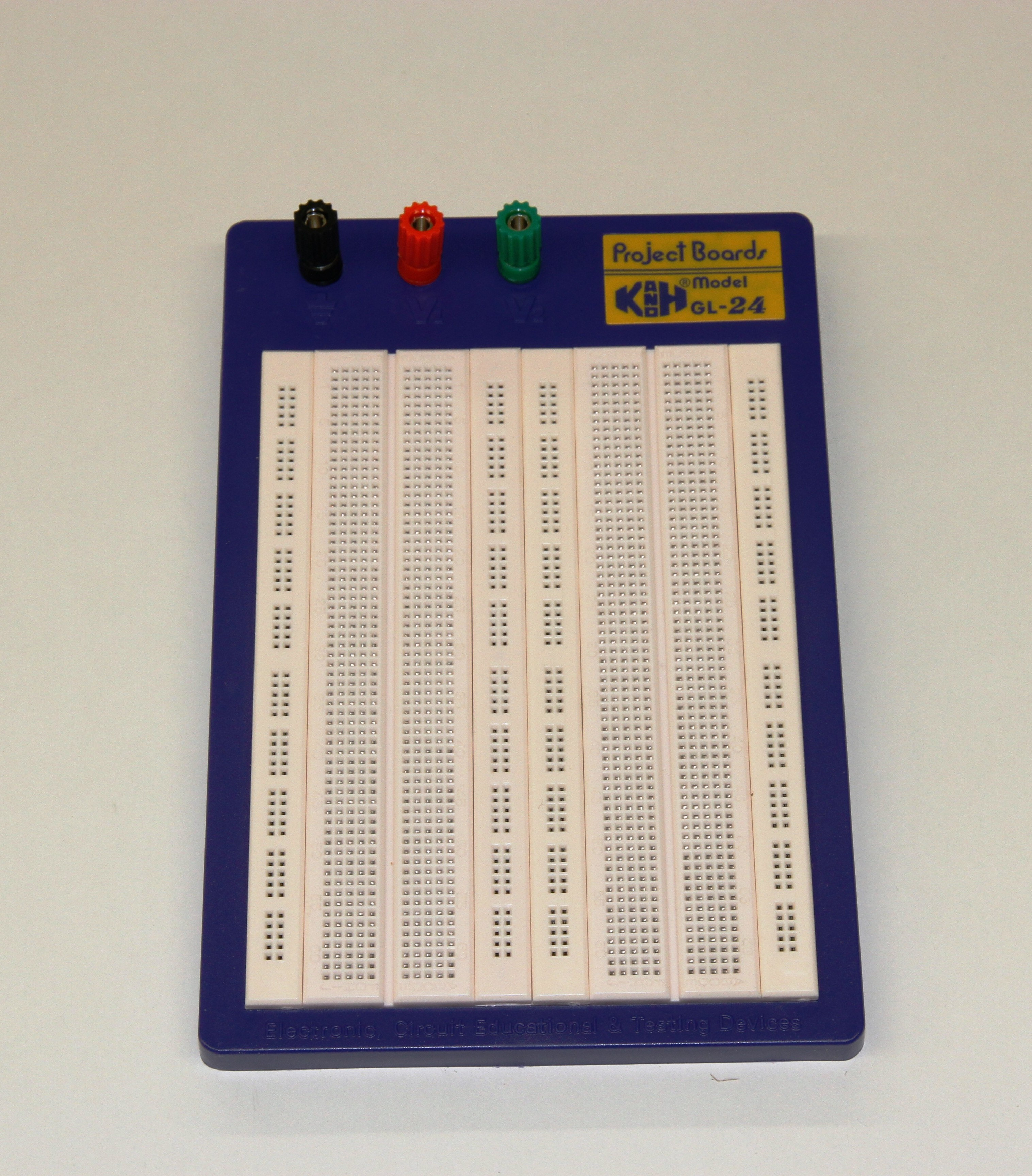Gl24 Kh Breadboard 1680 Tie Points From Snap Circuits Micro Kit Courtesy Elenco Electronics Inc