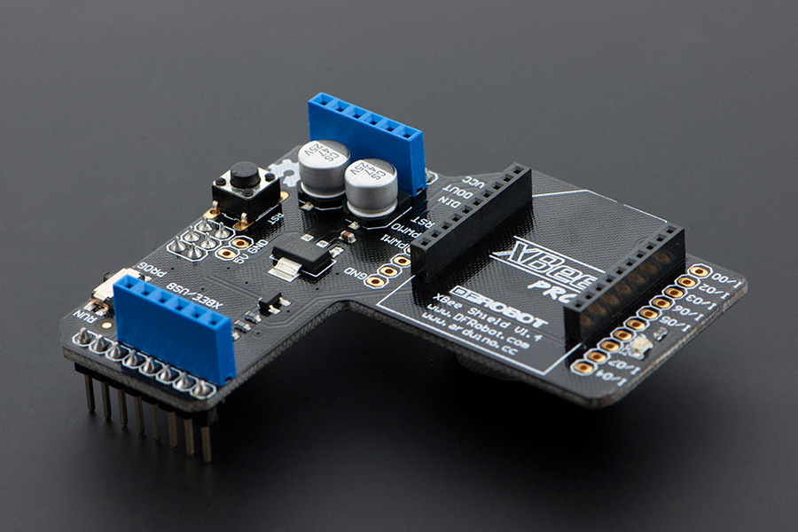 Dfr xbee shield for arduino