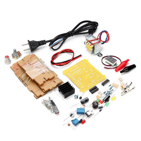 High Voltage Kit : Lm adjustable voltage power supply student training kit