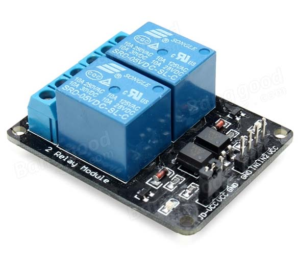 Rm two channel relay module
