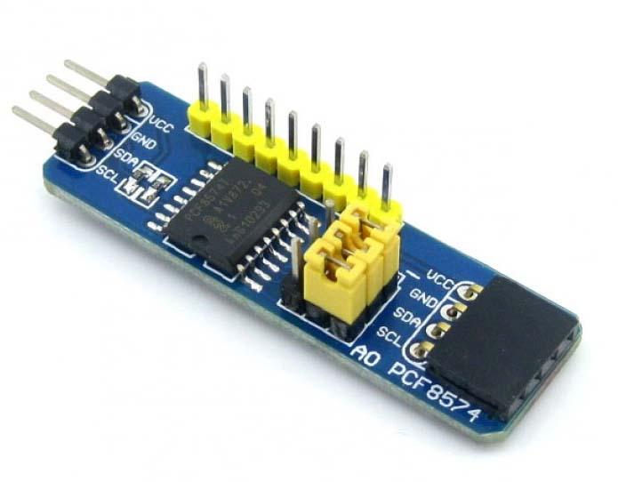 Arduino Interface PCA9555 GPIO Expander With Code