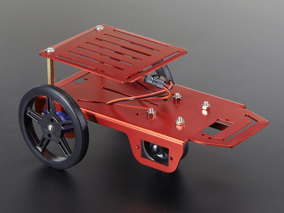 FT-2WD-KIT Mobile Robot Platform Chassis Kit - 2WD with DC Motors