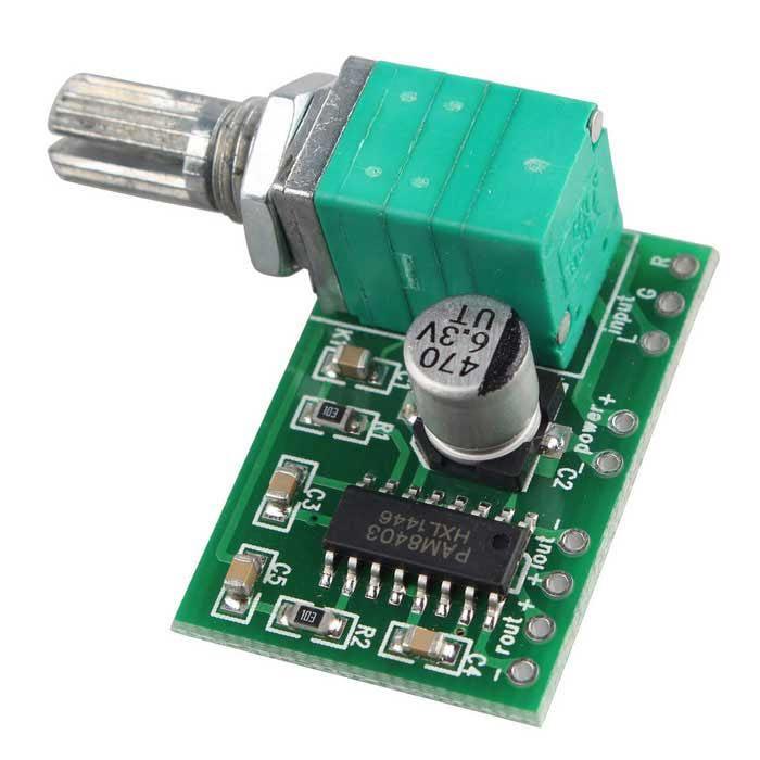 Channel Stereo 3w 3w Pam8403 Audio Amplifier Board