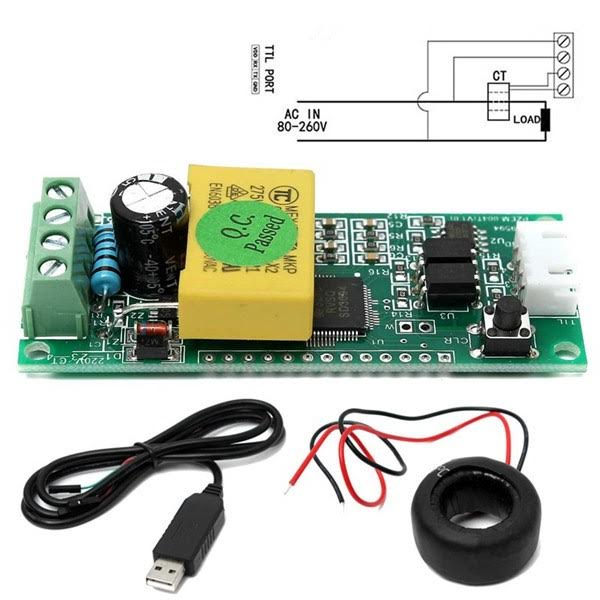 Pzem 004t Multifunction Power Monitoring