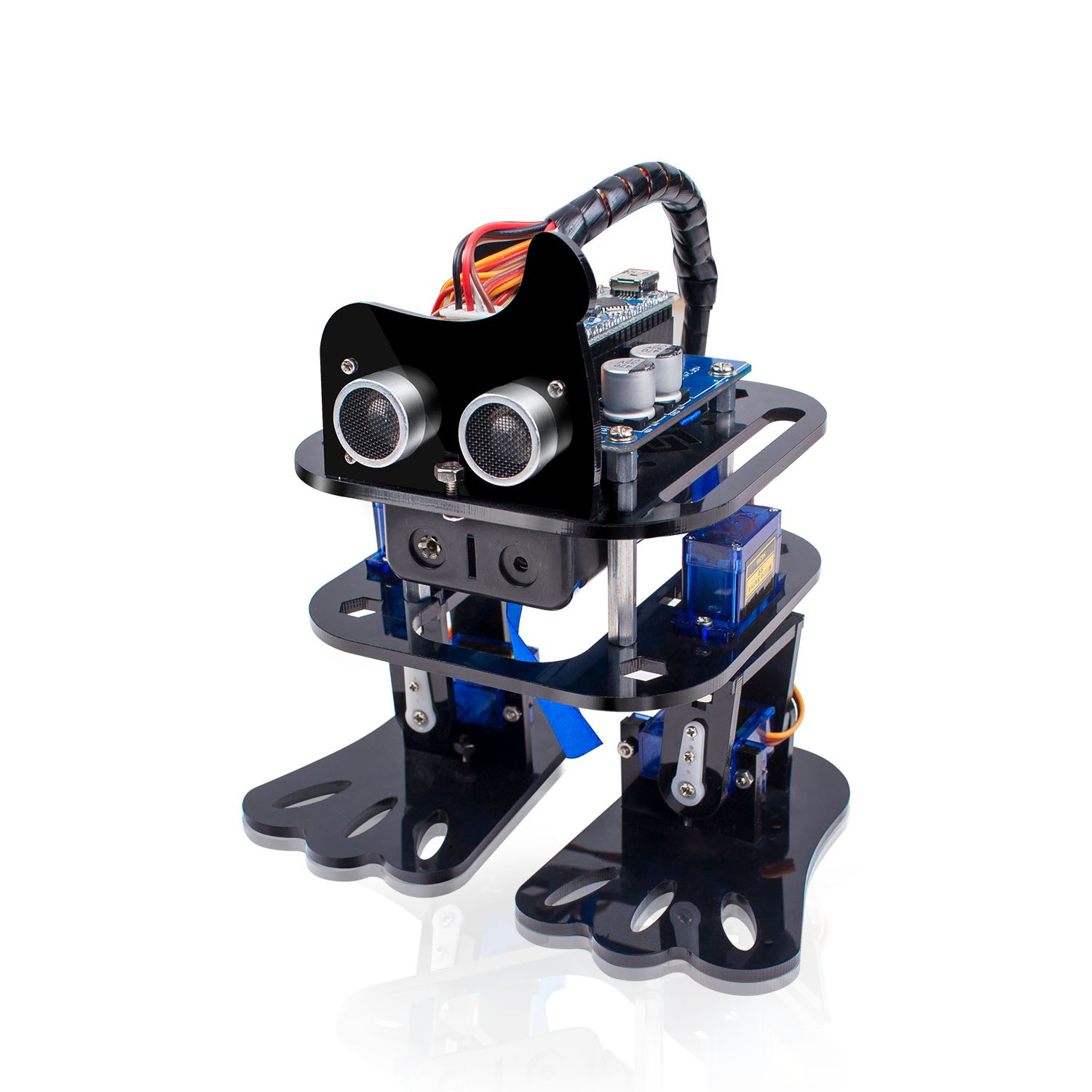 Sf 4dofrobot Arduino Nano Diy 4 Dof Robot Kit Sloth Learning Using The Tda7275a Linear Integrated Circuit Designed In A Minidip 1