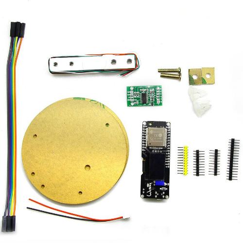 WEMOS-SCALE-KIT 1KG WEMOS ESP32 with 0 96 OLED and HX711 Module Scale Kit