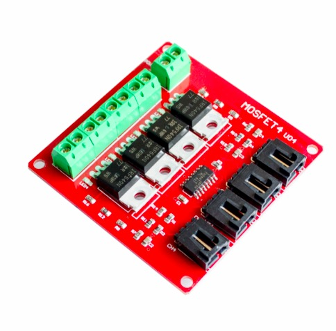 MOD-MOSIRF IRF540 Four Channel MOSFET Switch Module