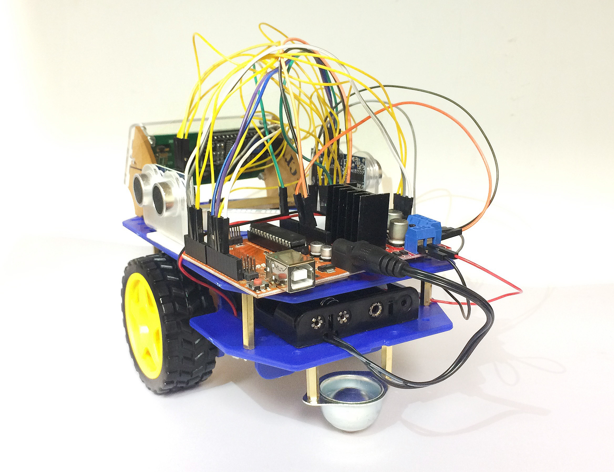AK-CAR-05 MAZE SOLVING SMART CAR ROBOT DIY KIT