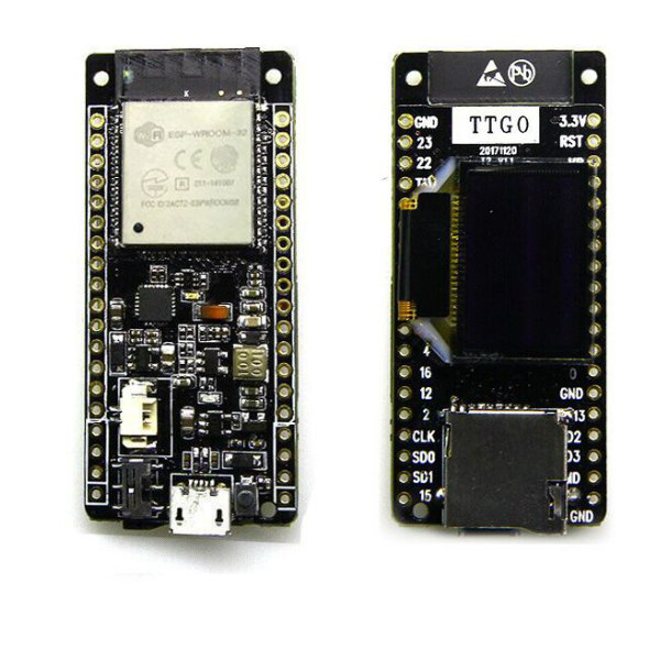 WL-TTGO-T2 TTGO T2 ESP32 0 95 OLED DEVELOPMENT BOARD (WIFI+BLUETOOTH+SD  CARD)