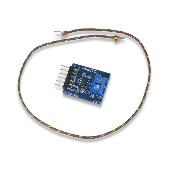 410-315 Pmod TC1: K-Type Thermocouple Module with Wire