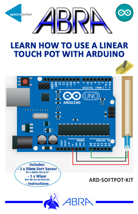 softpot sensor instructional kit