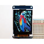 """358 1.8"""" 18-bit color TFT LCD display with microSD card breakout - ST7735R"""