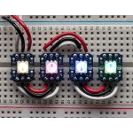 1312-ADA Breadboard-friendly RGB Smart NeoPixel - Pack of 4