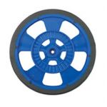 "SW-BLUE 2-5/8"" Diameter Servo Blue Wheel"