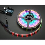 1460-ADA NeoPixel Digital RGB LED Weatherproof Strip 30 LED -1m - BLACK