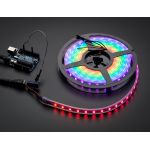 1461-ADA NeoPixel Digital RGB LED Weatherproof Strip 60 LED -1m - BLACK