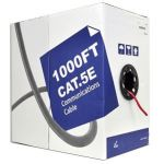 24104L5E-21-BL Blue Category 5E Solid Network Cable - 1000 FT
