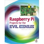 0071821589 Raspberry Pi Projects for the Evil Genius(Paperback) by Donald Norris