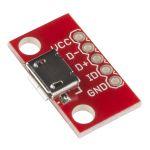 BOB-12035 Breakout Board for USB microB