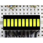 1923-ADA 10 Segment Light Bar Graph LED Display - Yellow-Green