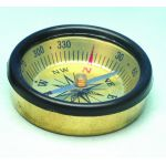 PH0823B Small Pocket Compass - Brass - 45mm diameter