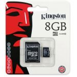BBB-8GB-10 MicroSDHC Memory Card 8GB Class 10