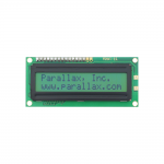 27976 Parallax 2x16 Serial LCD (Non-Backlit)