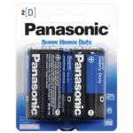 30-446 D Size Panasonic Heavy Duty Battery Pkg/2