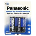 30-447 C Size Panasonic Heavy Duty Battery Pkg/2