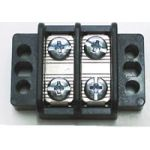 "13-1502 30 AMP Dual  Row Terminal Blocks (.437""c.s.) - 2 Poles"