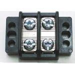 "13-1702 75 AMP Dual Row Terminal Block (.687""c.s.) - 2 Poles"