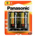 30-439 Size D Panasonic Alkaline Battery Pkg/2
