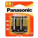 30-441 Size C Panasonic Alkaline Battery Pkg/2