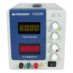 1737 BK Precision Dual Range DC Power Supply (0-30V, 0-3A or 0-60V, 0-2A)