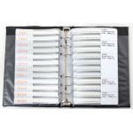 SMT 0805 Resistor and Capacitor Book 3725 Pieces