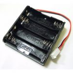 PRT-08159 Battery Holder - 4xAA Square Terminated