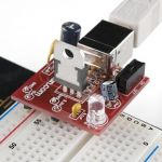 PRT-08376 Breadboard Power Supply USB - 5V/3.3V