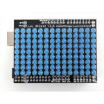 493 LoL Shield BLUE - A charlieplexed LED matrix kit for the Arduino - 1.5