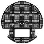 979-POLOLU 3pi Expansion Kit with Cutouts - Black
