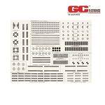 """21-677 Circuit Board Drafting Patterns -  8½"""" x 11"""" sheet"""