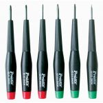 800-149 Pro Series Precision Screwdriver Set 6 Pc. Flat/Phillips