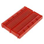 ABRA-6-RD Breadboard 400 Tie Points Translucent Red