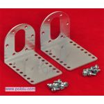 1084-POLOLU Pololu 37D mm Metal Gearmotor Bracket Pair