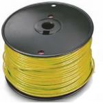 18HST1000-5 18 AWG Yellow Stranded Hook-Up Wire-1000ft